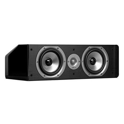 Polk Audio CS20 (BK) Center Channel Speaker