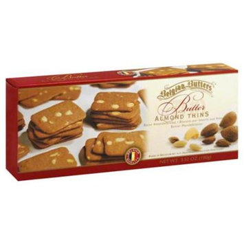 Belgian Butters Almond Thins Butter 3.52 Oz. - Case of 12