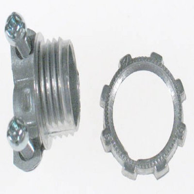 Halex 90510 .38 in. Non Metallic Clamp Connector