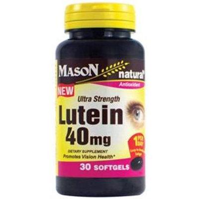 Lutein 40 mg Ultra Strength, 30 Softgels, Mason Natural