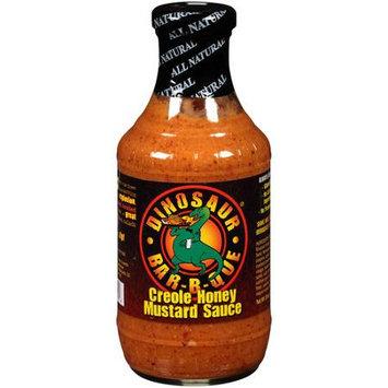 Dinosaur Mustard Sauce, Creole Honey, 19 Oz, Pack Of 6