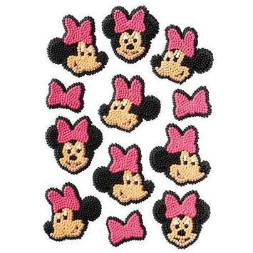 Minnie Mouse Icing Decorations Pkg/12