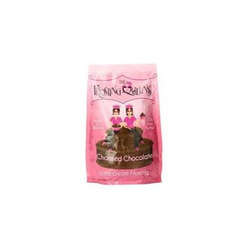 The Frosting Queens Charmed Chocolate Frosting 12 Ounce (Pack of 6)