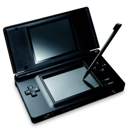 Usgskb Ds Lite Portable Gaming System For Nintendo Ds - Onyx Black