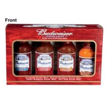 King Of Fire Budweiser BBQ Sauce Gift Pack