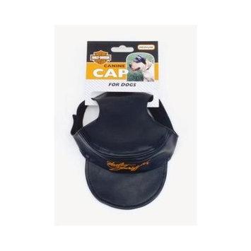 Coastal Pet Products CO44430 H2500 Harley Davidson Dog Cap Black Medium