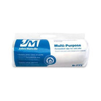 Johns Manville 16-in x 4-ft Unfaced Fiberglass Roll Insulation with Sound Barrier B777CT40