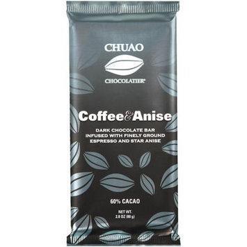 Chocolatier Coffee & Anise Dark Chocolate Bar, 2.8 oz