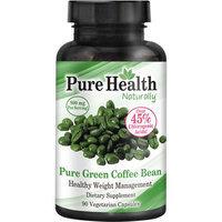 Pure Health Pure Green Coffee Bean Vegetarian Capsules, 800mg, 90 count