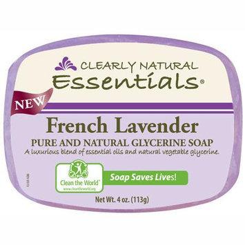 Glycerine Bar Soap French Lavender 4 OZ from Citrus Magic