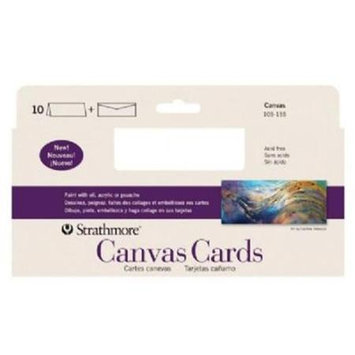 Strathmore SIZE CANVAS CARD