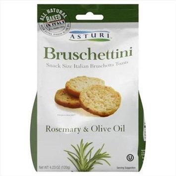 Asturi All Natural Bruschettini Rosemary & Olive Oil 4.23 oz