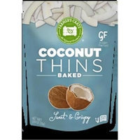Farmers Crate Gluten Free Baked Fruit Thins Coconut - 0.9 Ounce Pack of 8