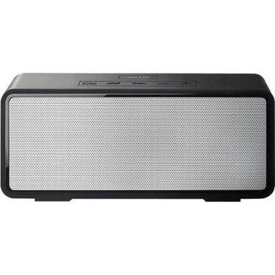 mPulse GO Rechargeable Portable Bluetooth Wireless Stereo HD Speaker - Grey/Black