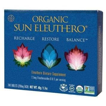 Sun Chlorella 1528421 Organic Sun Eleuthero 240 Tablets
