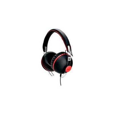 iDance HIPSTER706 Headphones - Black With Red Trim