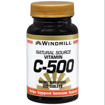 Vitamin C 500 mg, 100 Tablets, Windmill Health Products
