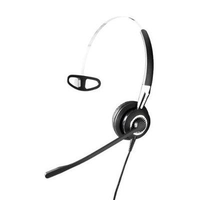 Jabra BIZ 2420 Mono Quick Disconnect (QD) Wired Headset w/Noise Cancellation