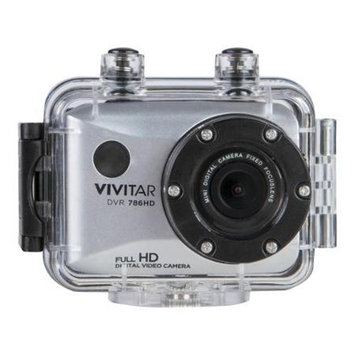 Vivitar DVR787HD Action Camcorder - Black, Black