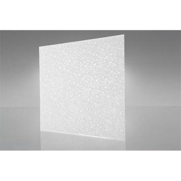 OPTIX 20-Count 23.75-in x 47.75-in Cracked Ice White Acrylic Ceiling Light Panels 1420084A