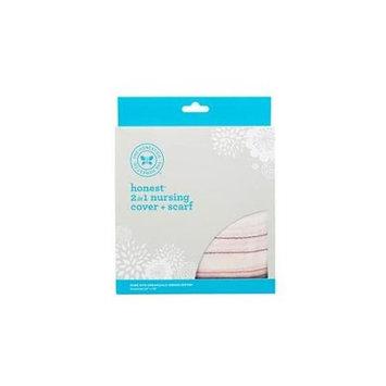 The Honest Co. Honest 2-in-1 Organic Nursing Cover + Scarf - Desert Stripe