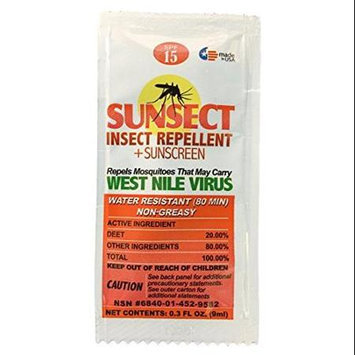 Sunsect 3 Sunscreen Insect Repellent White Paste