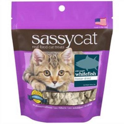 Herbsmith Sassy Cat Freeze Dried Wild White Fish Cat Treats 1.25 oz.