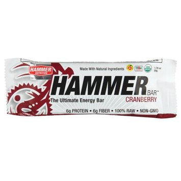Hammer Nutrition Ultimate Energy Bar - Box of 12 (Cranberry)