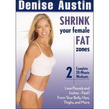 Denise Austin: Shrink Your Female Fat Zones (dvd)