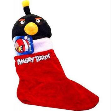Commonwealth Toy Angry Birds Christmas Stocking: Black Bird