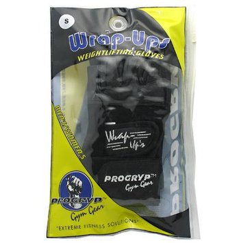 Muscle And Fitness Progryp 7140021 Wrap-Ups Weightlifting Gloves Small