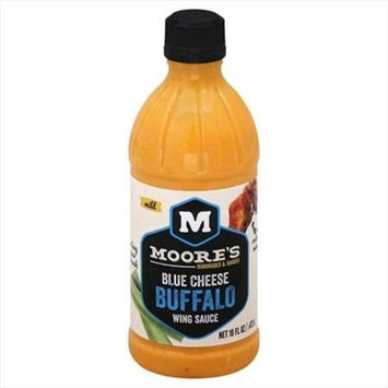 Moore 16 oz. Blue Cheese Buffalo Wing Sauce Case Of 6