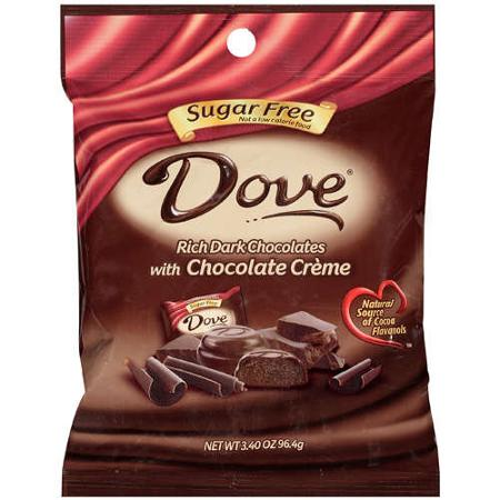 Dove Silky Smooth Dark Chocolates Sugar Free