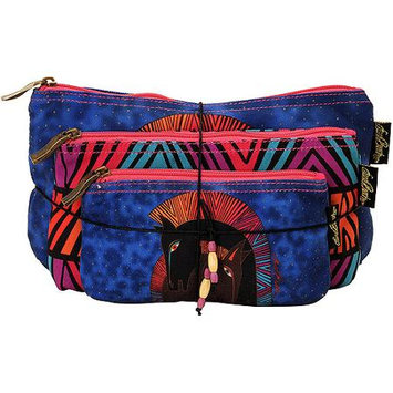 Laurel Burch LB5330 Cosmetic Bag Set Of Three-Embracing Horses