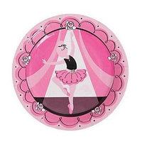 Fun Express Little Ballerina Dinner Plates (8 pc)