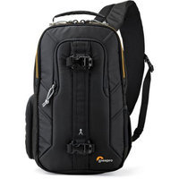 Lowepro Slingshot Edge 150 AW Backpack for Mirrorless Camera with Attached Lens, Extra Lens, Small Tablet