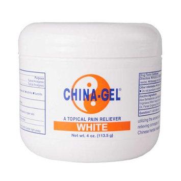 China-Gel 4 oz Jar White