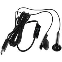OEM HTC Stereo Hands-Free Headset w/Microphone for Sprint HTC Snap S300 (Black)