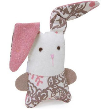 Worldwise Loved Ones Refillable Bunny Catnip Cat Toy-Pink