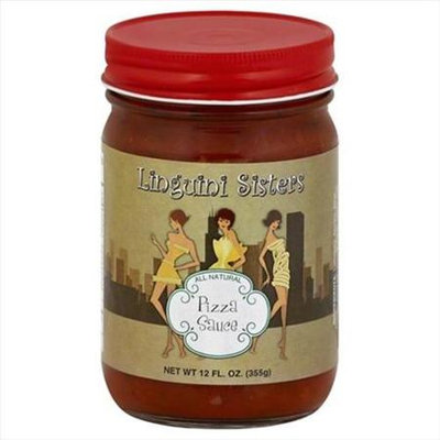 Linguini Sisters 12 oz. Sauce Pizza - Case Of 6