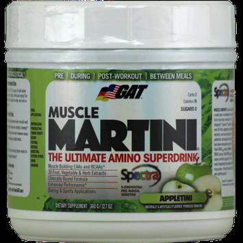 GAT Muscle Martini Appletini - 360 g