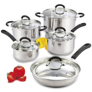 Cook N Home 10 Piece Cookware Set