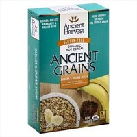 Ancient Harvest Ancient Grains Organic Hot Cereal Banana & Brown Sugar 6 Packets