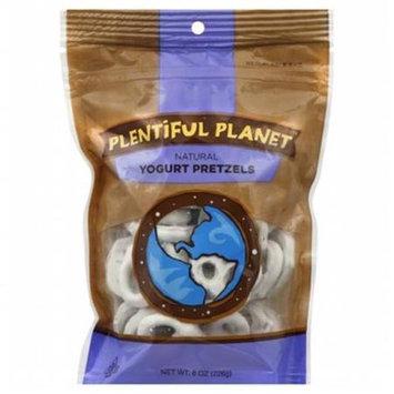 Plentiful Planet Snck Yogurt Pretzel Bag (Pack Of 6)