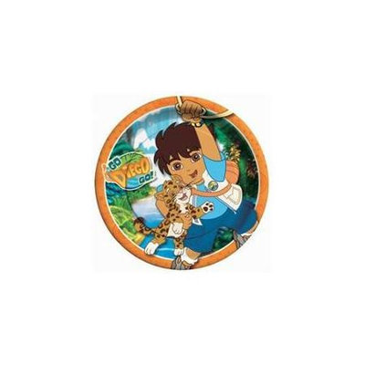 American Greetings Amscan Go Diego Go! Dinner Plates - 8 ct