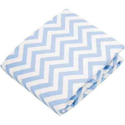 Babies R Us Kushies Change Pad Fitted Sheet - Blue Chevron