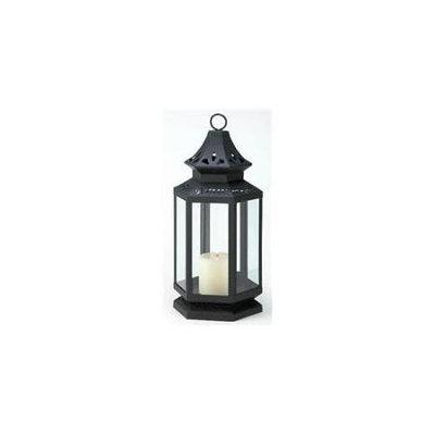 Vgce Zingz & Thingz 57070787 Large Black Stagecoach Candle Lantern