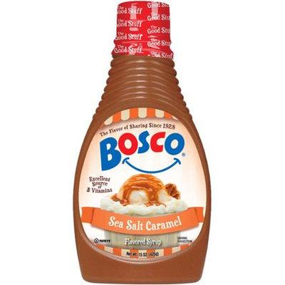 Bosco 15 oz. Sea Salt Caramel Syrup - Case Of 6