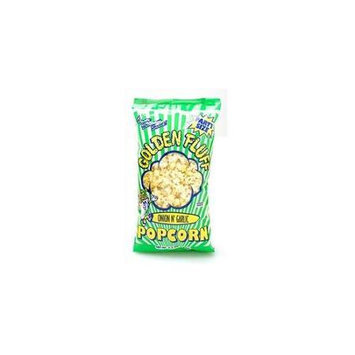 Golden Fluff 20028 Jumbo Onion-Garlic Popcorn Case of 8 x 6.5 oz