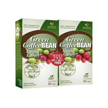 Genceutic Naturals Green Coffee Bean - 400 mg - 60 Vcaps - 2 ct